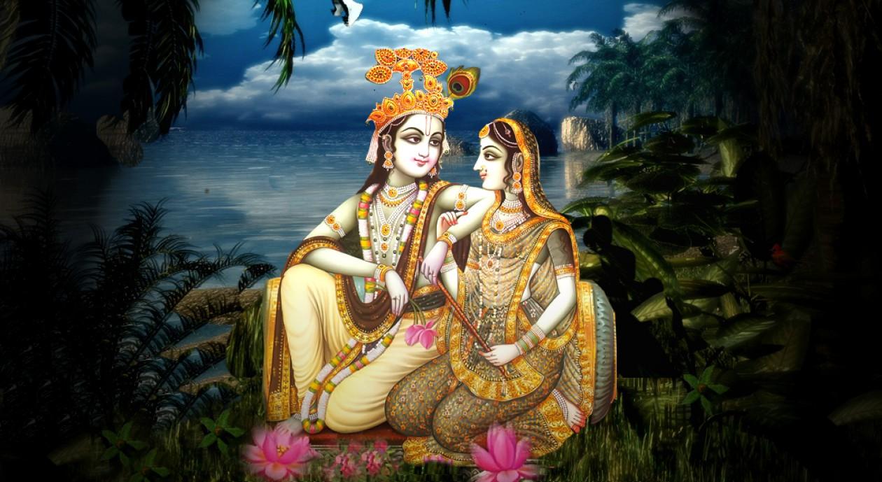 Mantra Pessoal a bela Radha